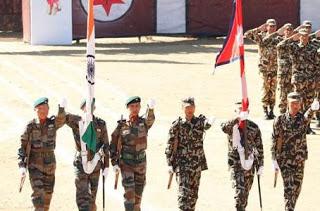 Joint military exercise 'SURYA KIRAN – XIV' between India and Nepal will be conducted at Salijhandi