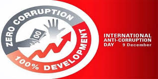 9th December: International Anti-Corruption Day
