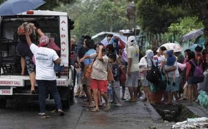 Over 3 lakh evacuated as Typhoon Kammuri hits Philippines