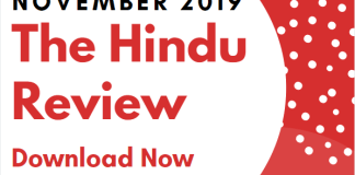 Blog the hindu review November 2019