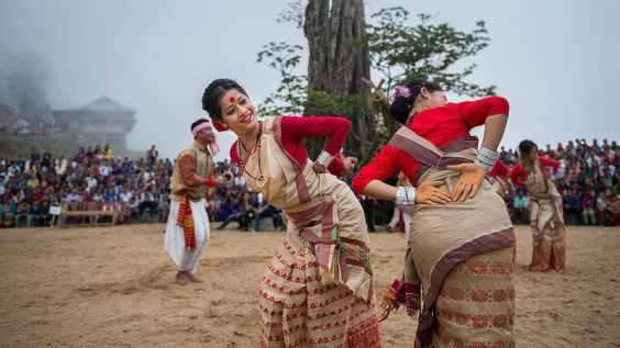 Magh Bihu celebrated in Assam