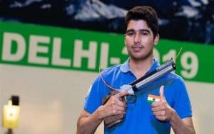 Saurabh Chaudhary wins gold in men's 10 m air pistol at 63rd National Shooting C'ship