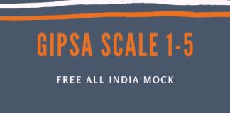 GIPSA Scale 1-5 (1)