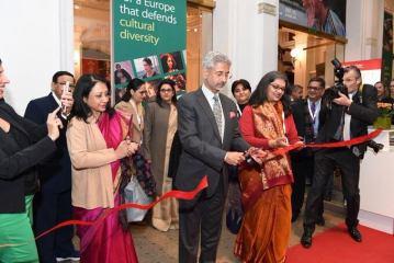 S Jaishankar inaugurates Indian pavilion at Berlin International Film Festival