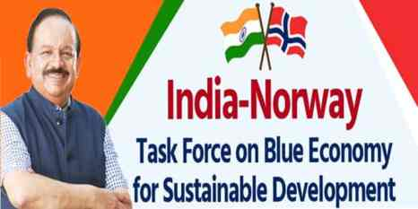 India And Norway To Develop New Framework For Integrated Ocean Management and Research