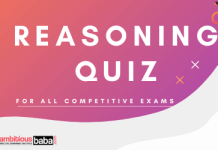 Reasoning Quiz for all competitive exams
