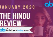 The Hindu Review Jan PDF Blog Banner