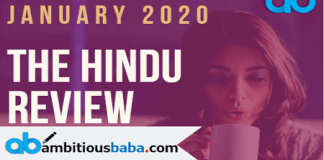 The Hindu Review Jan PDF Blog Banner