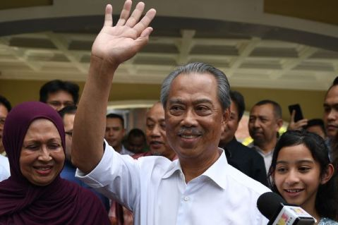 Muhyiddin Yassin appointed new PM of Malaysia