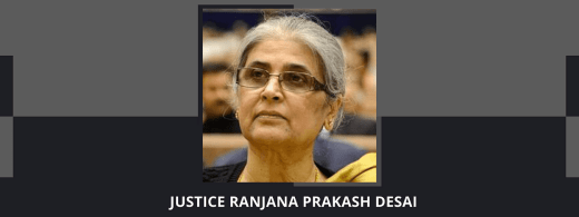 Justice (retd.) Ranjana Prakash Desai appointed to head Delimitation Commission set up for J&K, Assam, Arunachal Pradesh, Manipur, Nagaland