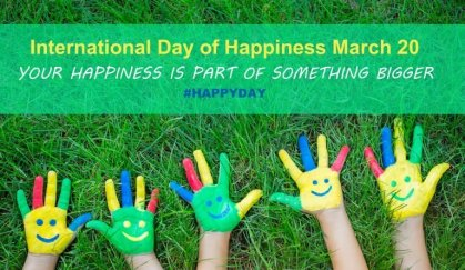 20th March: International Day of Happiness