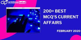 Best 200+ CA MCQs PDF February 2020