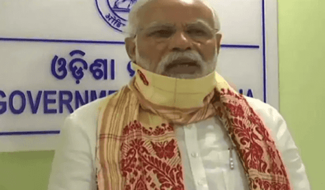 PM Modi announces interim relief of Rs 1,000 crore to West Bengal and Rs. 500cr. to Oddisha