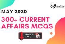 May CA MCQ 2020 Blog Banner