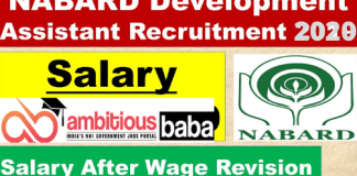 Nabard Development Assistant salary