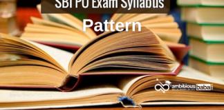 SBI PO 2020 Exam Pattern and details syllabus