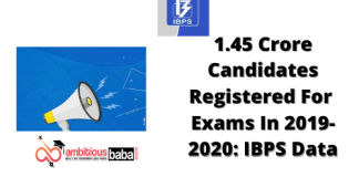 1.45 Crore Candidates Registered For Various Exams In 2019-2020