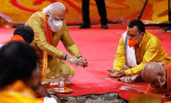 Over 160 million watched live telecast of Ram temple event