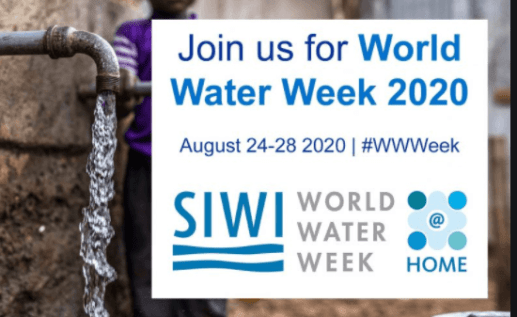 World Water Week 2020: 24 To 28 August
