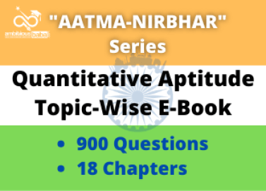 Quantitative Aptitude Topic-Wise E-Book