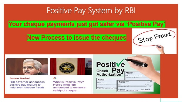 RBI governor announces 'positive pay' feature to help avert cheque frauds