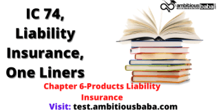 Products Liability Insurance