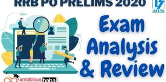 RRB PO Prelims Exam Analysis and Review