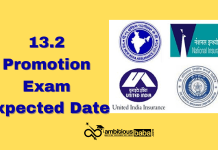13.2 Promotion Exam 2020: Expected date