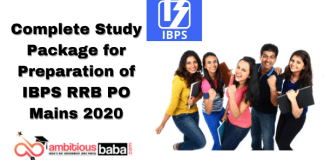 Complete Study Package for Preparation of IBPS RRB PO Mains