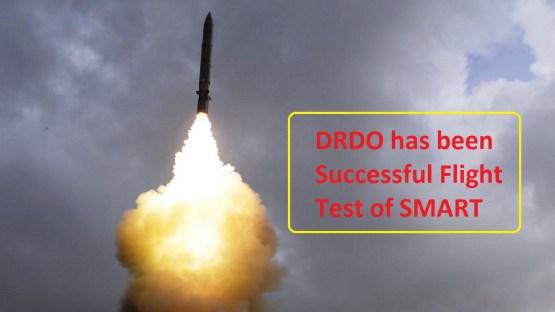 DRDO has been Successful Flight Test of SMART
