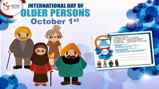 1st October: International Day For Older Persons 2020