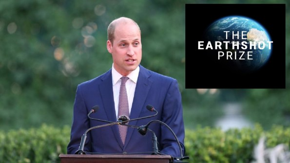 Prince William Officially Launches Earthshot, the Nobel of Environmental Prizes