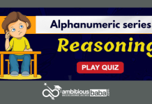 Alphanumeric series quiz
