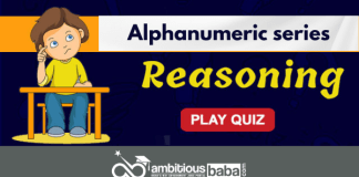Alphanumeric series quiz