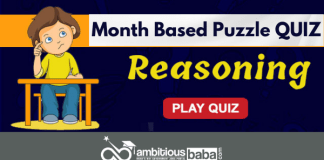Month based puzzle