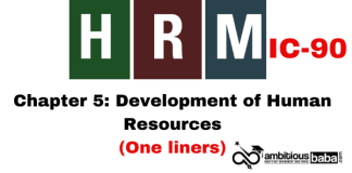 PARA 13.2|IC 90, HRM One Liner|Chapter-5 | Acquiring Human Resources