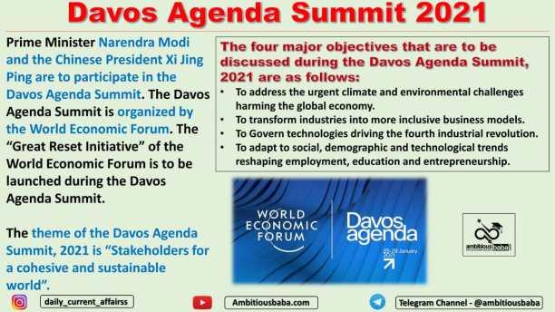 Davos Agenda Summit 2021