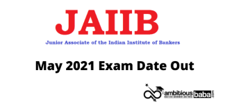 aiib May 2021 exam date out