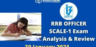 RRB OFFICER SCALE-1 Exam Analysis & Review