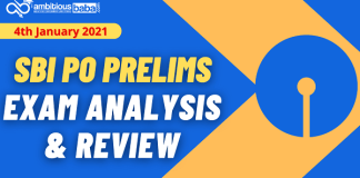 SBI PO Pre exam Analysis