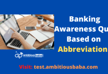 Banking Awareness Based on All Banking Abbreviations