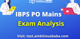 IBPS PO Mains Analysis