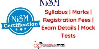 NISM Exam - Syllabus _ Registration Fees _ Marks _ Exam Details _ Mock Tests