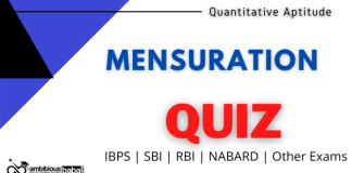 Mensuration Quiz