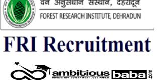 FRI Recruitment 2021 : 30 Post for Trainee