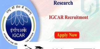 Indira Gandhi IGCAR Recruitment 2021 : 337 Post for Stipendiary Trainee, Work Assistant
