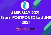 jaiib exam postponed