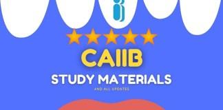 CAIIB study material 2021 Edition
