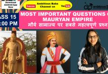 Mauryan Dynasty Based Quiz: Download PDF