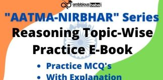 Reasoning Topic-Wise Practice E-Book